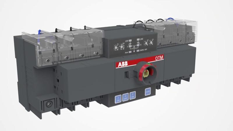 ABB_Compact ATS - Ассортимент и установка аксессуаров