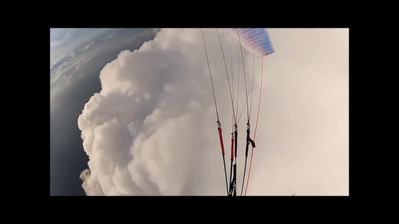 Gabriele Pittaro Truant Amazing flight cloud surfing with my Nova Factor 2