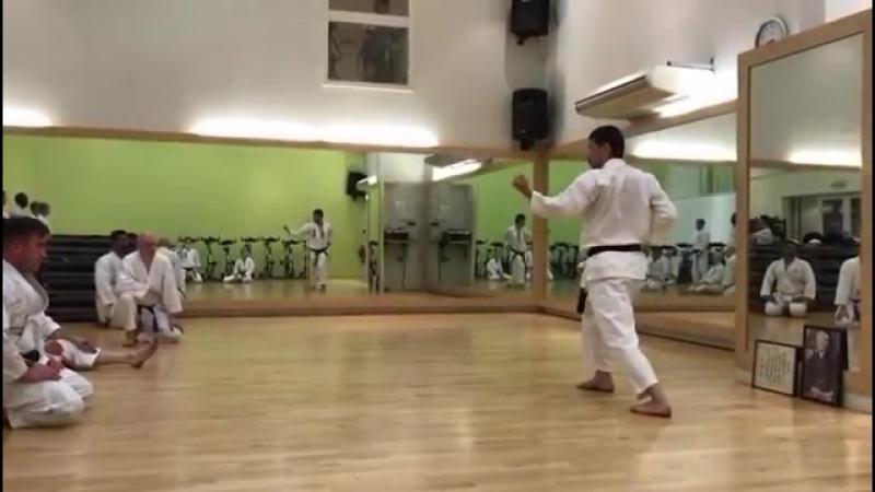 Kanku Dai explained by Kancho Kanazawa