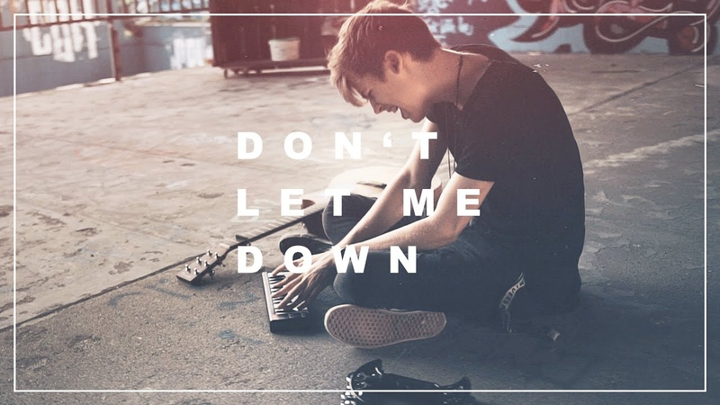 Dont Let Me Down - The Chainsmokers | Acoustic Cover - Jannik Brunke