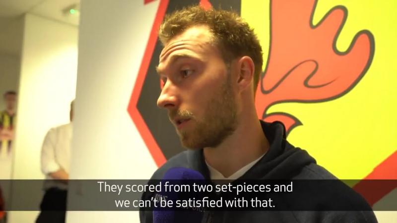 Интервью Эриксена после матча с Уотфордом