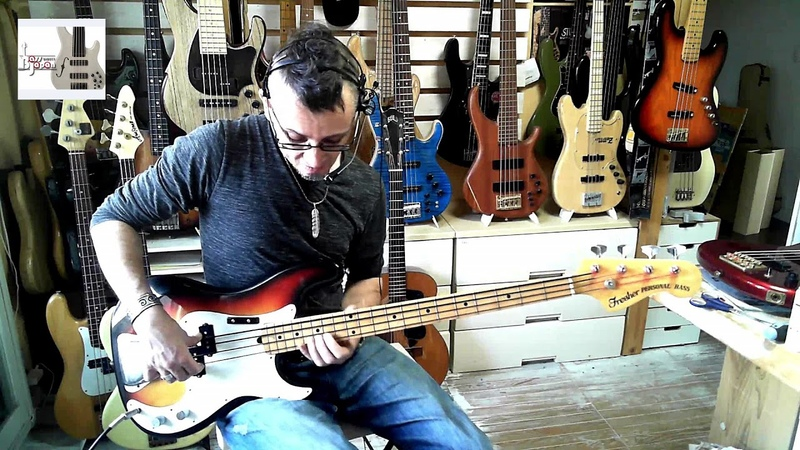 Fender Precision Type: fresher Personal Bass, Vintage Japan, Bass Demo