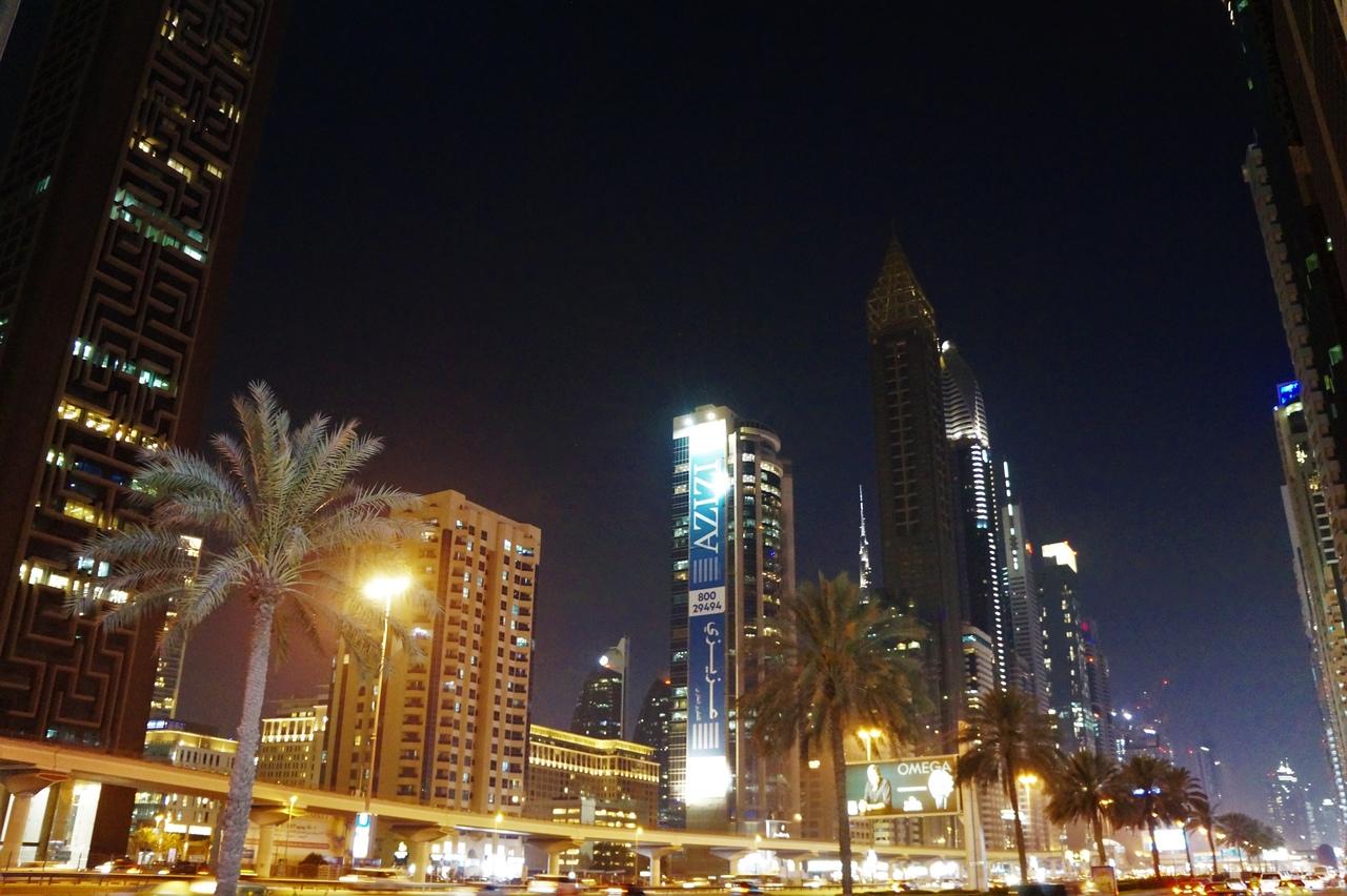 Все о метро в Дубаи