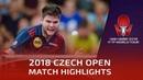Dimitrij Ovtcharov vs Park Ganghyeon | 2018 Czech Open Highlights (R16)