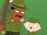 Стьюи и Брайан в армии