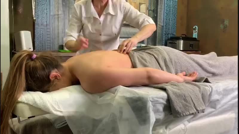 Фируза Шарипова в массажном салоне NaStart