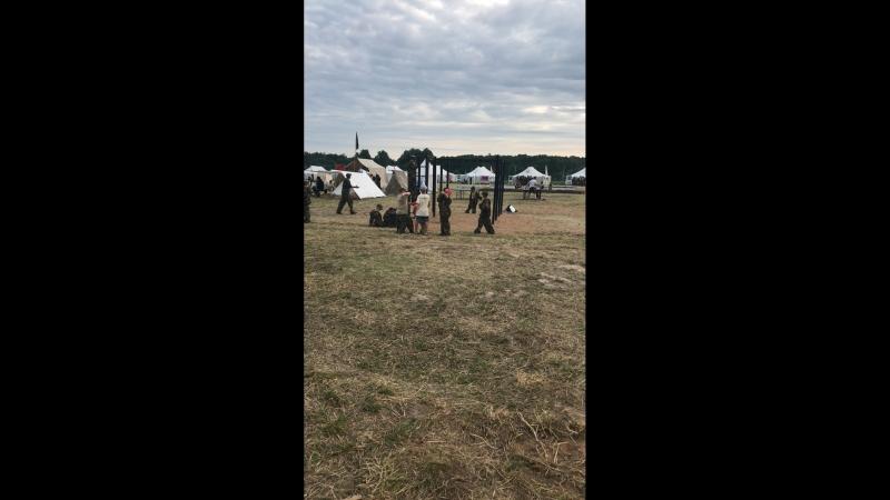 Военно патриотический лагерь «Ратники Отечества. Бородино2018»