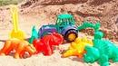 Gli animali preistorici. Giochi educativi per bambini. Episodi in italiano
