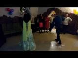 Выступление на банкете. Танец с платком.