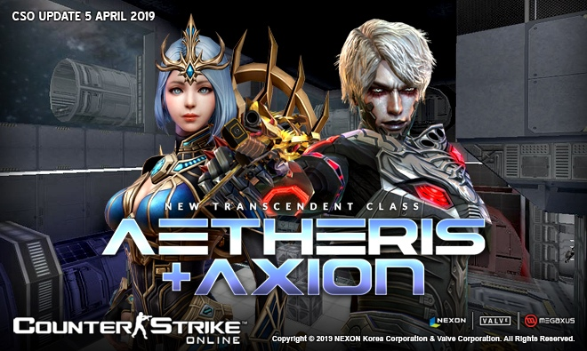 [CS 1.6] Модели - Aetheris & Axion