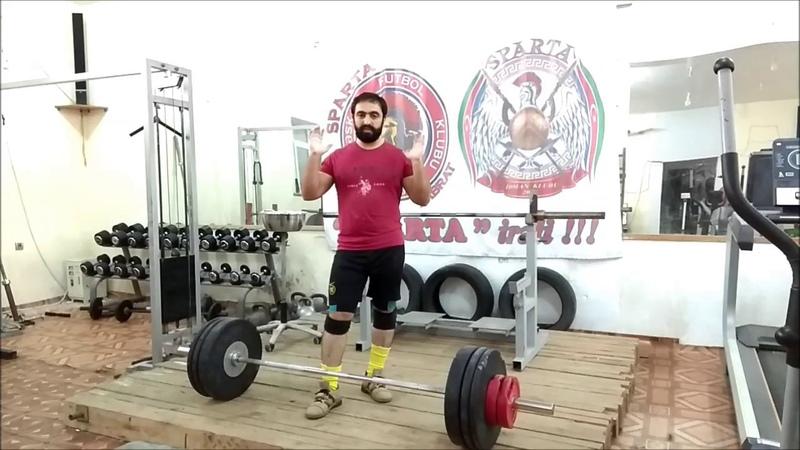 Тренировка № 19. Спортсмен-сыроед тянет 340 кг Сможете повторить ? (21.11.2018/Ateks Motivator)