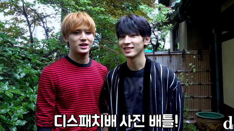 "[181109] Wonwoo Mingyu (Seventeen) @ Dispatch ""Photo battle"""