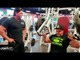 Jay Cutler 's Chest &amp Tris day in Vegas with Sean Perich