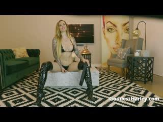 Femdom humilation (mistress,joi,latex boots,heels)