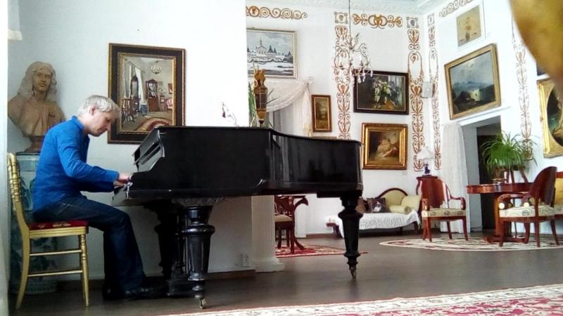 Дворец Строгановых. Фантазия-песня Прощание с родиной.