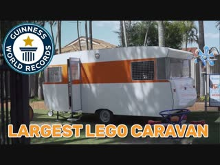 Largest LEGO® Caravan - Guinness World Records largest lego® caravan - guinness world records