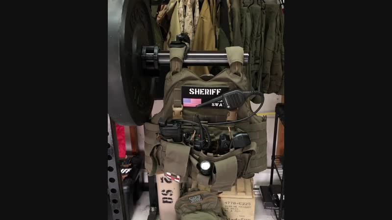 S.W.A.T SHERIFF equipment