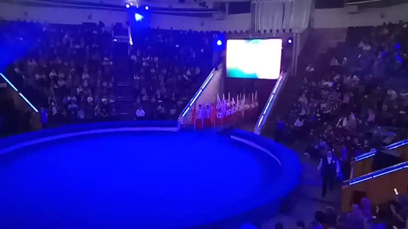 Новокузнецк Под сводом старого шатра Парад алле 2018