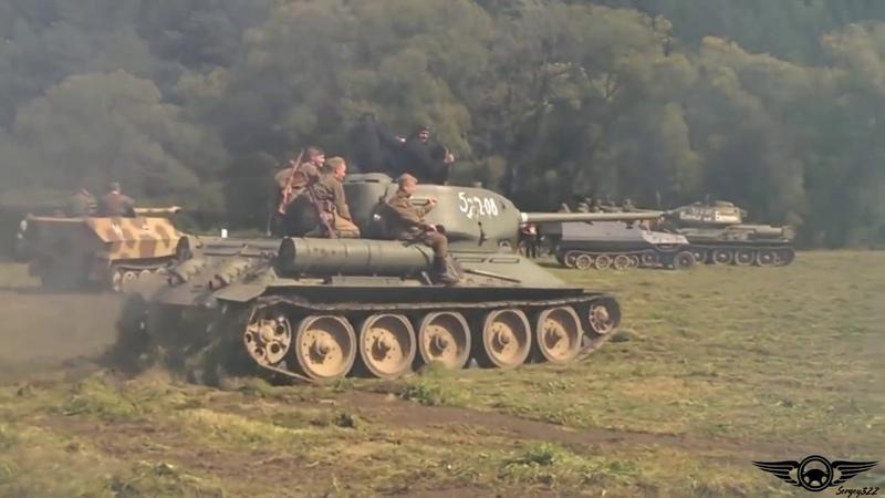 Так дрифтуют танки Подборка 2017