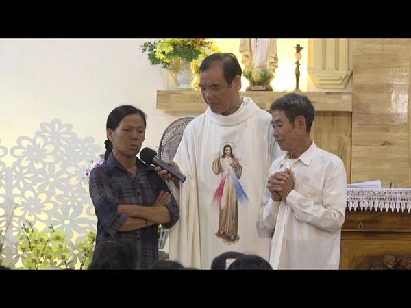 1 Người Lớn Tuổi Bị Bệnh Phổi, Và Vợ Bị Bệnh Bướu Cổ, Và Bị Tê Tay...Được Chúa Thương Xót Chữa Lành