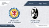 E. Braunschweig 61 Sport Club Freiburg, 10 тур (Германия)