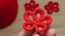Маленький ЦВЕТОК крючком - вязания для начинающих - Lesson crochet flowers