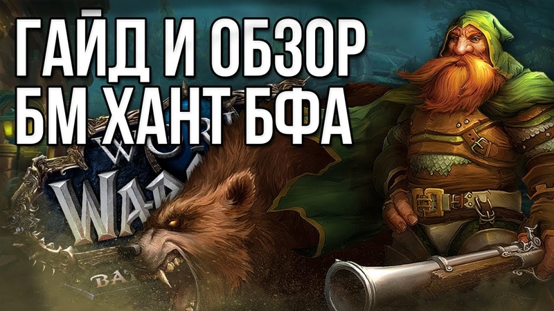Гайд и Обзор БМ хант (Охотник повелитель зверей) battle for azeroth