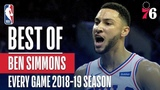 Ben Simmons's Best Play From Every Game Of The 2018-19 Season #NBANews #NBA #76ers #BenSimmons
