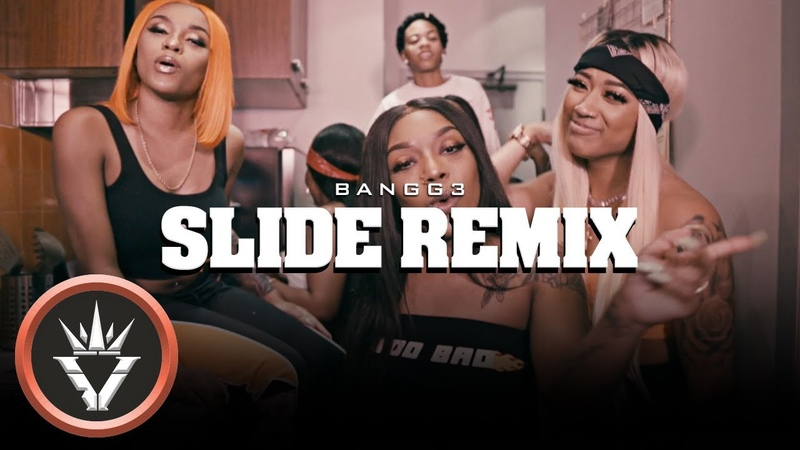 Bangg 3 ft Goldie Slide Remix Official Video Shot By @