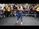 Explosive Golovkin training with trainer Abel Sanchez before Monroe fight ( 480 X 854 ).mp4