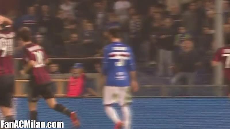 КИ 1^8 Сампдория 0-2 Милан (17.12.15)