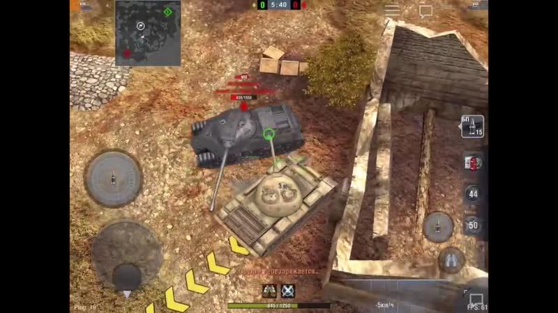[CHUDO8585] WoT Blitz Т-54 vs Ru 251. Кто лучше? Деды воевали 1( читаем описание )