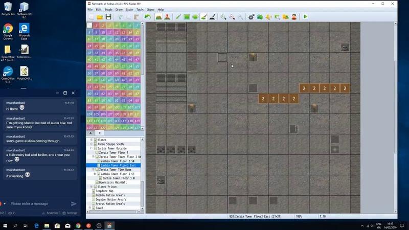 RoA Game Development Live Stream