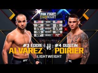 UFC ON FOX 30 Eddie Alvarez vs. Dustin Poirier