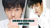 Cross Gene Shin Won Ho Speak English Compilation