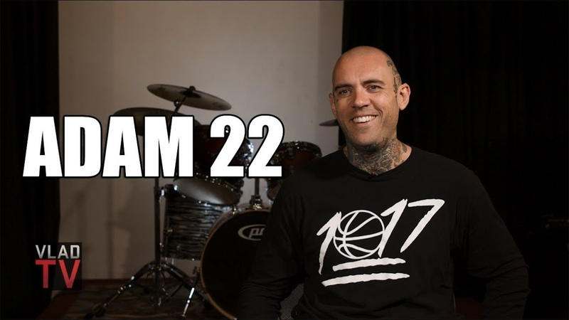 Adam 22 on Getting Huge Lisa Simpson Tattoo on His Face for Lil Peep (Part 4)