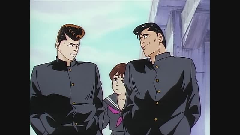 Be-Bop High School OVA (RUS озвучка) (аниме эпичное, комедия)