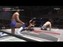 Hajime Soma Sumeragi vs Masayuki Mitomi Rionne Fujiwara WRESTLE 1 4th Anniversary Tour