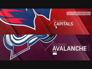 Washington Capitals vs Colorado Avalanche Nov 16, 2018 HIGHLIGHTS HD