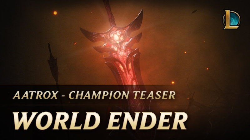 Aatrox: World Ender | Champion Teaser - League of Legends