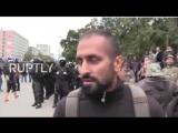 Chemnitz Migrant erklärt vor laufender Kamera, warum er AfD wählt (komplett)  Quelle: Jonna Nygren