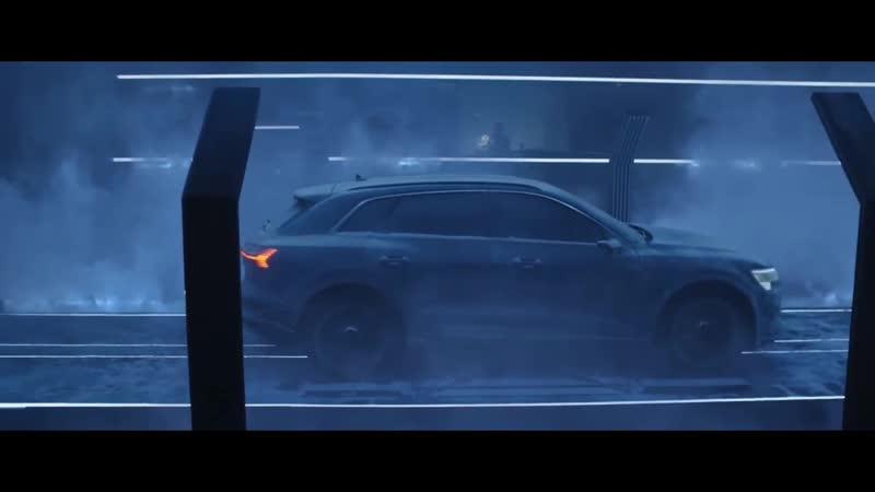 Audi e-tron тестирование ресурсов батареи.