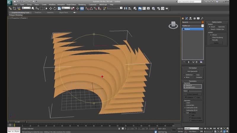 3ds max tutorial - parametric modeling