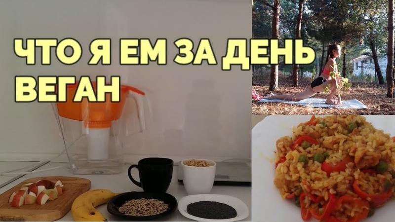 ЧТО Я ЕМ ЗА ДЕНЬ / ВЕГАН VEGAN / WHAT I EAT IN A DAY PART 2