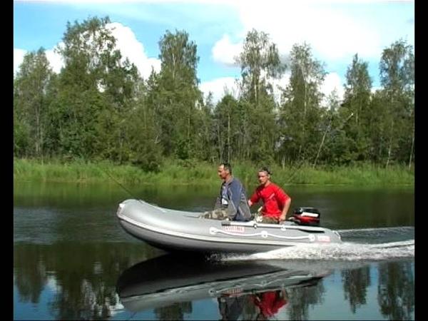 Лодки надувные пвх викинг от компании посейдон
