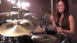 DROWNING POOL - BODIES - DRUM COVER BY MEYTAL COHEN #coub, #коуб