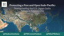 Protecting a Free and Open Indo Pacific Strengthening the U S Japan India Trilateral Relationship