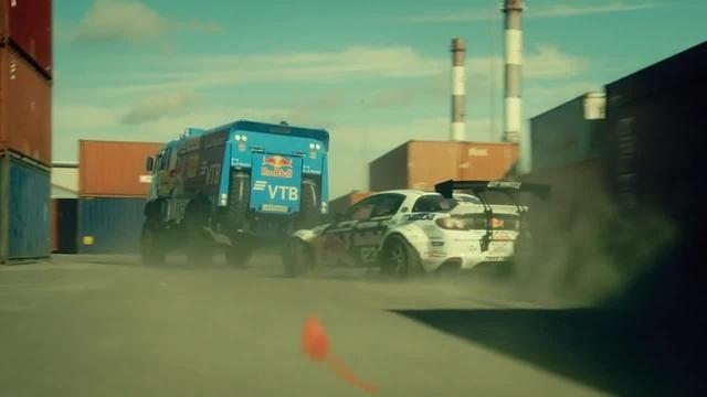 КАМАЗ vs Mazda RX 8