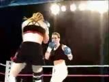 Jeannine Garside vs Rita Valentini (clip)