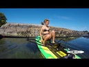 Kestrel Rowing and Paddling the Oar Board® Fitness Row 12' Inflatable Stand Up Paddle Board SUP